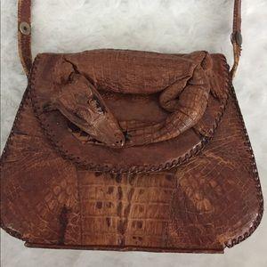 Handbags - Vintage Leather Alligator Purse
